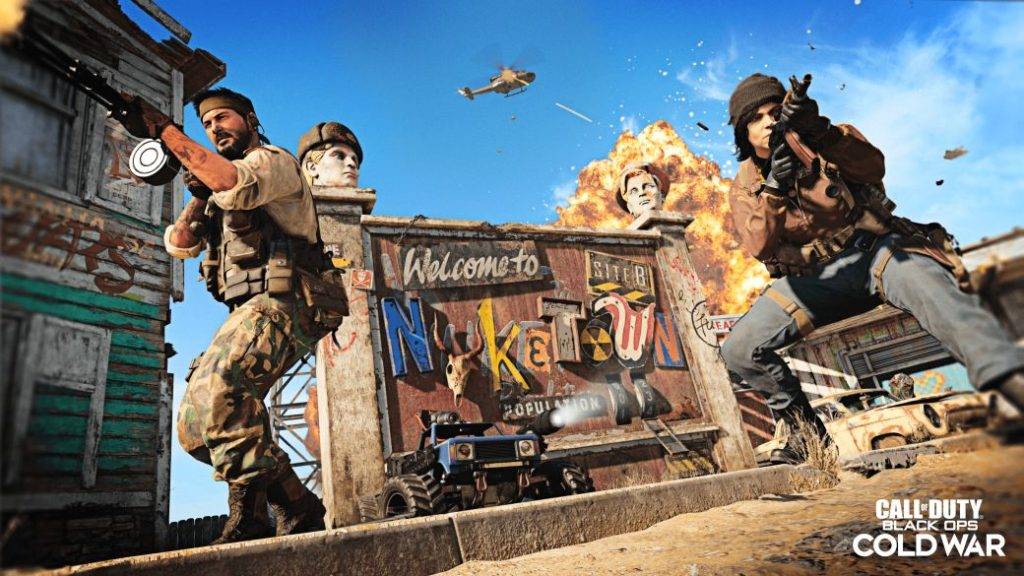 Call of Duty: Black Ops Cold War Presents Nuketown '84; new trailer