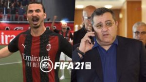 """FIFA 21   The agent of 'Ibra' on his conflict with EA: """"It's all for money"""""""