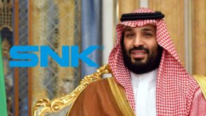 The heir to the Saudi crown will take 33% of SNK