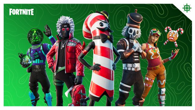 Christmas 2021 Fortnite Skin Fortnite Operation Cooldown Now Available Christmas 2020 Event