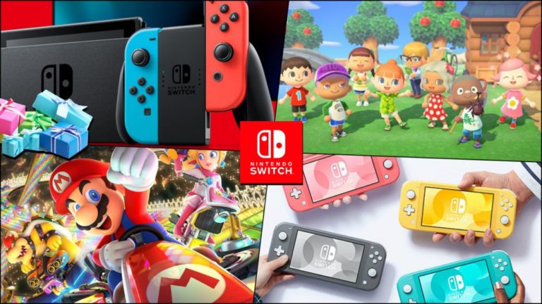 Where to buy Nintendo Switch at Christmas 2020; best games, consoles and accessories packs