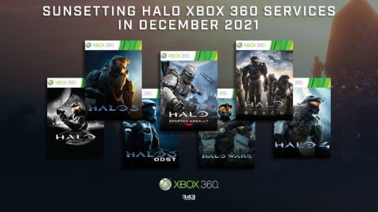 The Halo saga says goodbye to matchmaking on Xbox 360 next December 2021