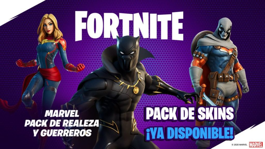Fortnite: Black Panther, Captain Marvel and Taskmaster skins now available