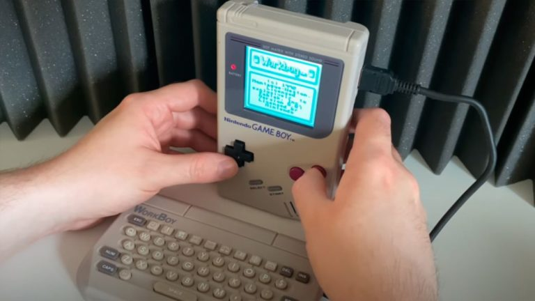 WorkBoy, the peripheral that turns the Game Boy into a mini computer, comes to light after 28 years