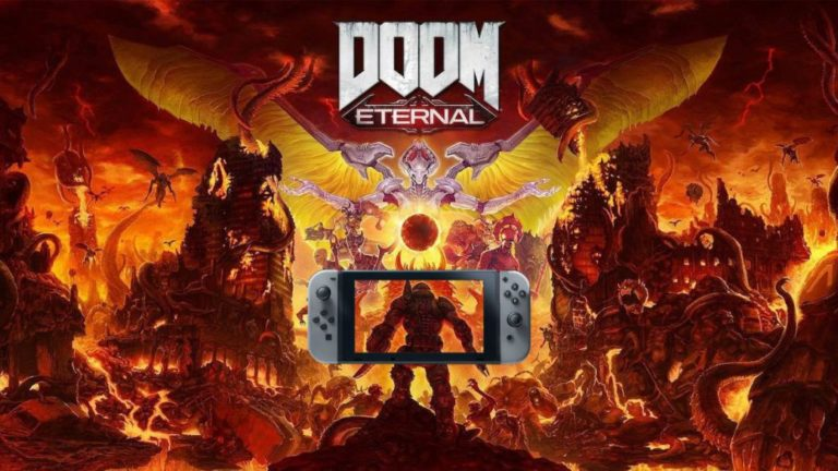 Doom Eternal, Switch review. Miracle in hell