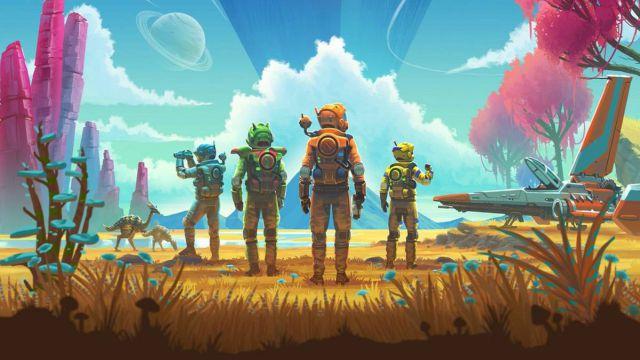 Video game ephemeris No Man's Sky Hello Games PlayStation 4 Sony sci-fi exploration