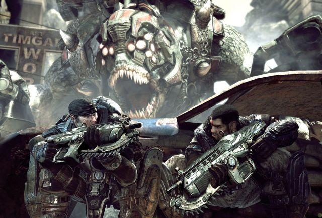 Video game ephemeris Gears of War Microsoft Xbox 360 Epic Games The Coalition shooter shooting games Marcus Phoenix