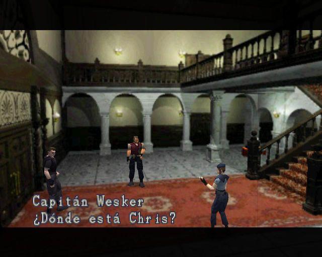 Video game ephemeris Resident Evil survival horror Capcom PlayStation PC Chris Jill