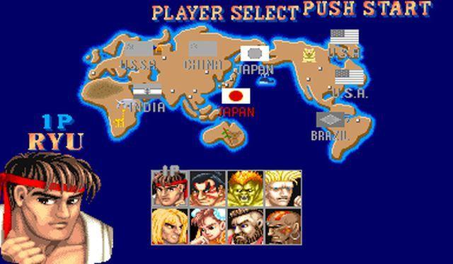 Video game ephemeris Street Fighter II World Warrior Capcom fighting games fighting games Super Nintendo Sega Megadrive