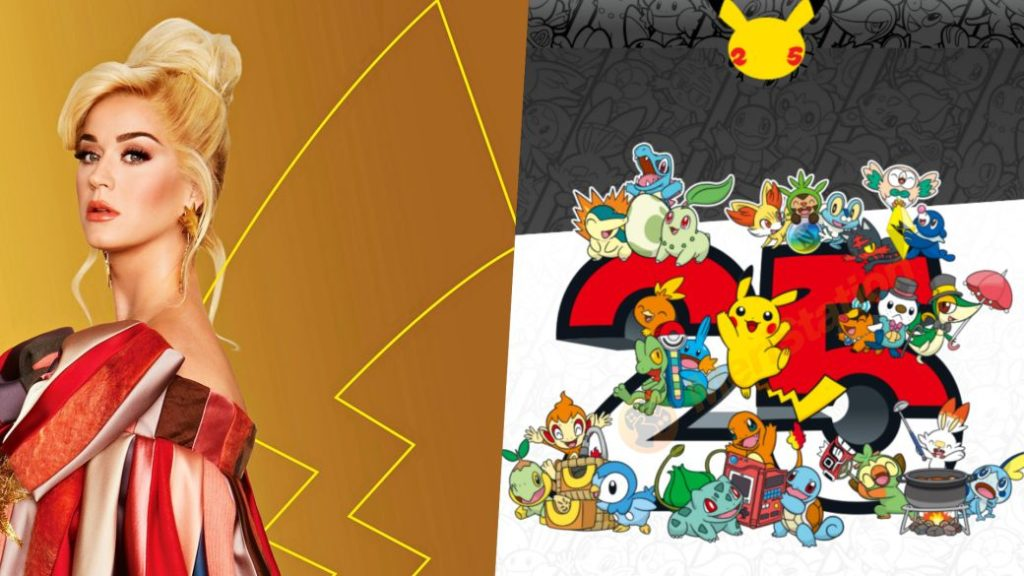 Pokémon 25th Anniversary: Katy Perry Music Collaboration, Events, and More