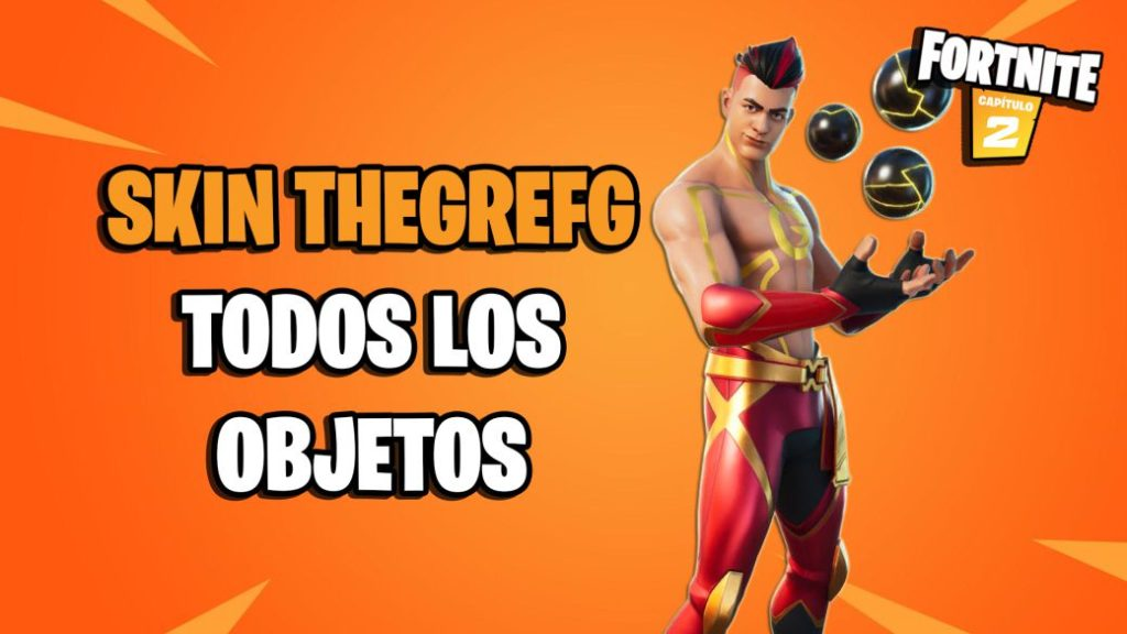 Fortnite: TheGrefg skin and its objects are already in the game