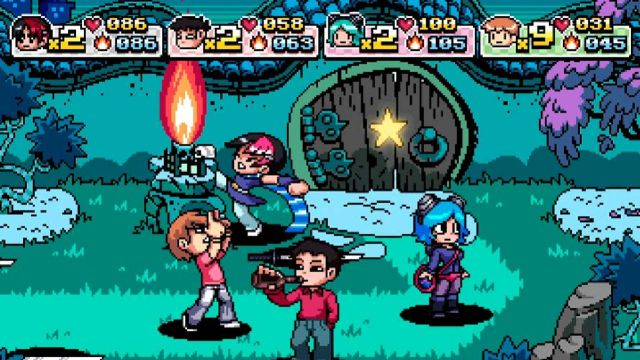 Scott Pilgrim Ramona Flowers Bryan Lee O'Malley beat'em up comic romance romantic comedy video games video game culture Scott Pilgrim VS The World: The Game - Complete Edition Ubisoft Universal Interactive PS3 PS4 Nintendo Switch Xbox One Xbox 360 Stadia