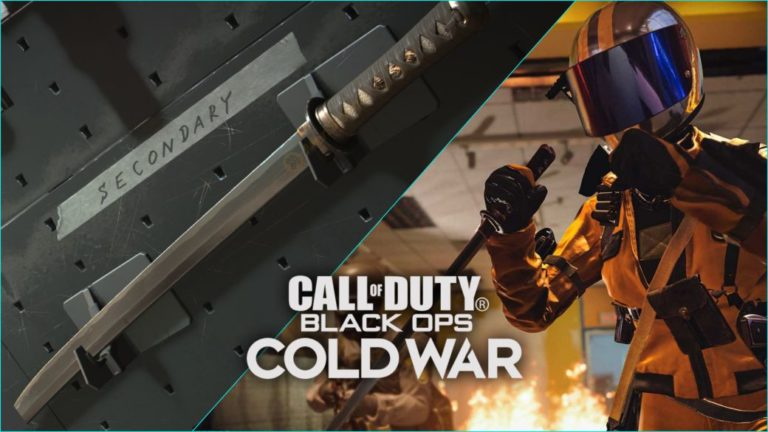 CoD Black Ops Cold War: How to Unlock Wakizashi for Free for Multiplayer