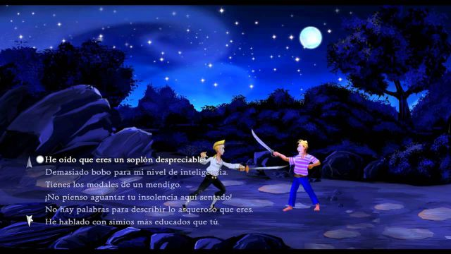 Non-violent video games Monkey Island graphic adventures video games that do not require killing to progress peaceful route LucasArts Ron Gilbert