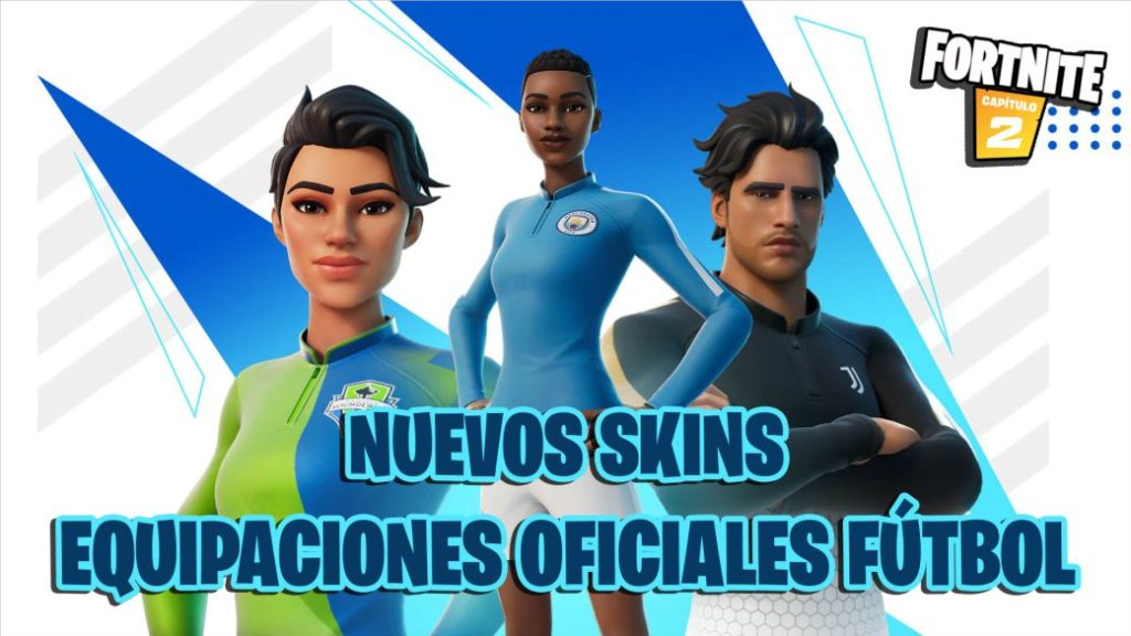 Fortnite: new official football kits and the Pele Cup; all we know