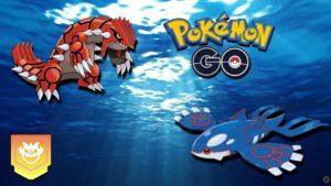 Kyogre y Groudon en Pokémon GO