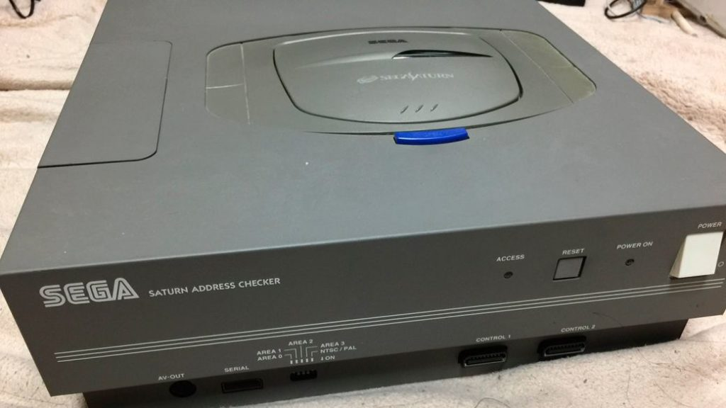 Unreleased, oversized Sega Saturn dev kit unveiled