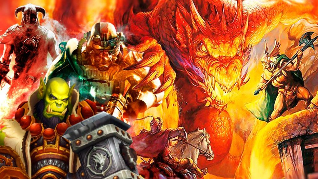 The influence of D&D on role-playing video games