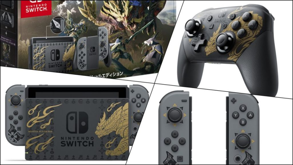 Monster Hunter Rise Edition Nintendo Switch Announced for Japan