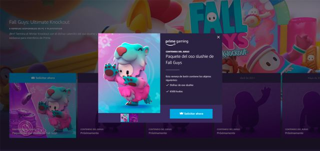 Fall Guys: How to Get Prime Gaming Rewards and the Slushie Bear Pack