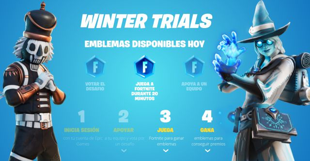 fortnite chapter 2 season 5 winter trials event free rewards how to get them