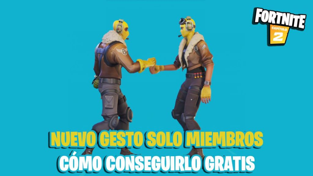 Fortnite gives away the Members Only emote; how to get it for free