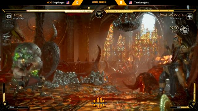 Mortal Kombat 11 player disqualified prank competitive tournament