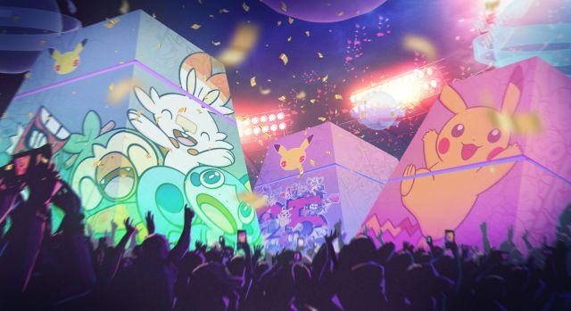 Pokémon 25th anniversary celebration video Katy Perry events Nintendo