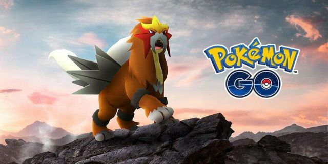 Entei - Pokémon GO