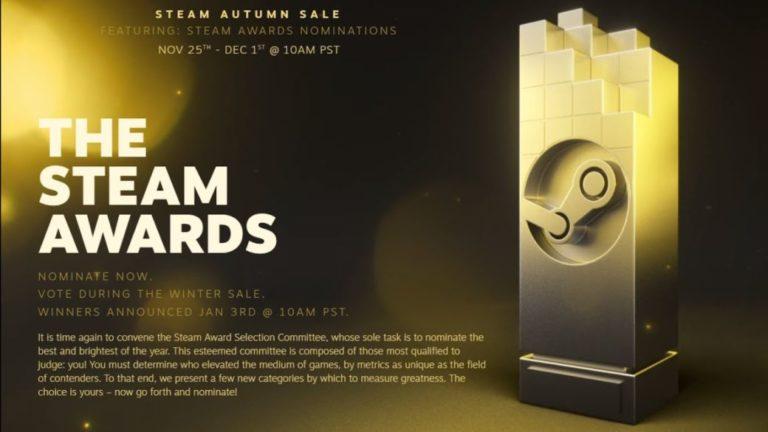Steam Awards 2020: list of all winners