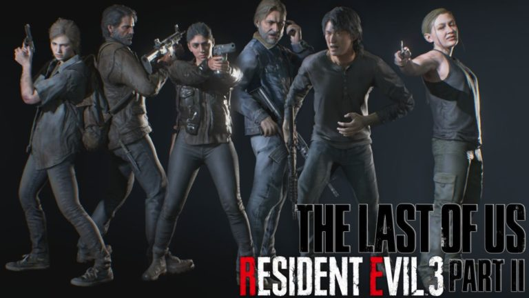 The Last of Us Part 2 characters come to Resident Evil 3 through a mod