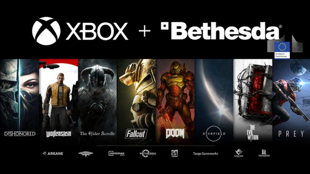 Xbox requests EU approval for Bethesda purchase
