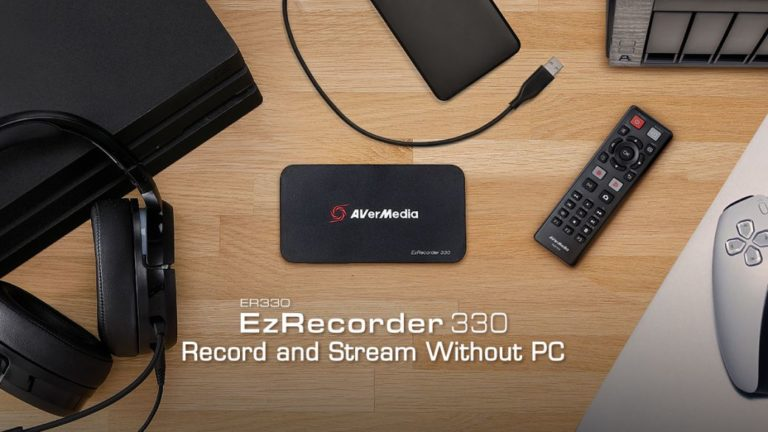 EzRecorder 330 from Avermedia, review. capture and streaming without PC (and added for retro)