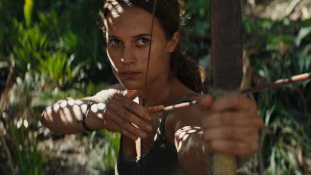 Tomb Raider Lara Croft movies Alicia Vikander