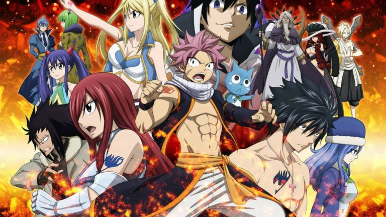 Fairy Tail: in what order to watch the entire series, movies and OVAs?