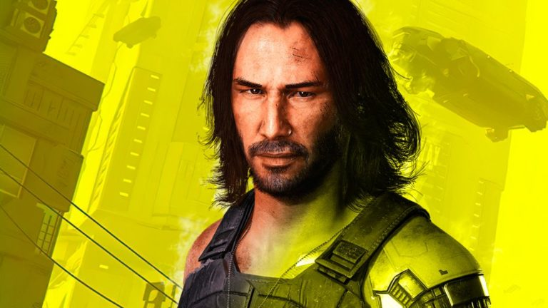 Johnny Silverhand and Keanu Reeves breathtaking