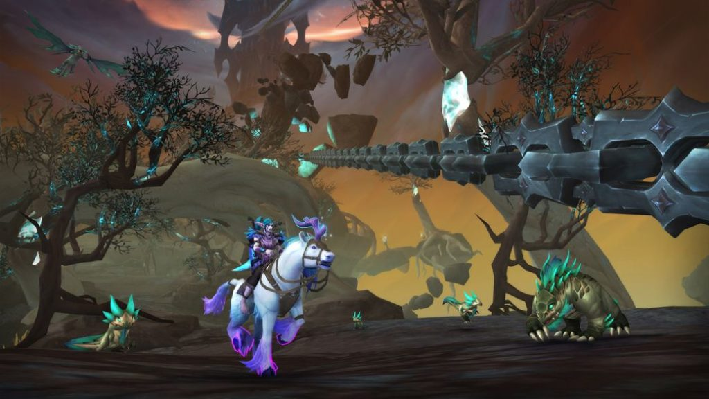 Chains of Domination, this is the new WoW content patch: Shadowlands