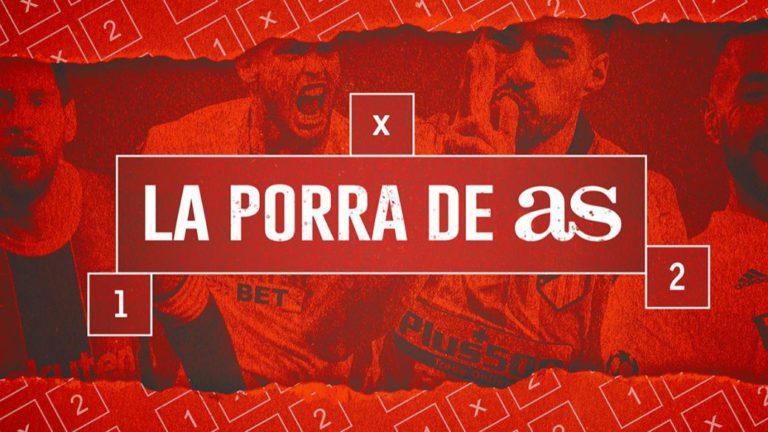 Get a free PS5 with 'La Porra de AS'