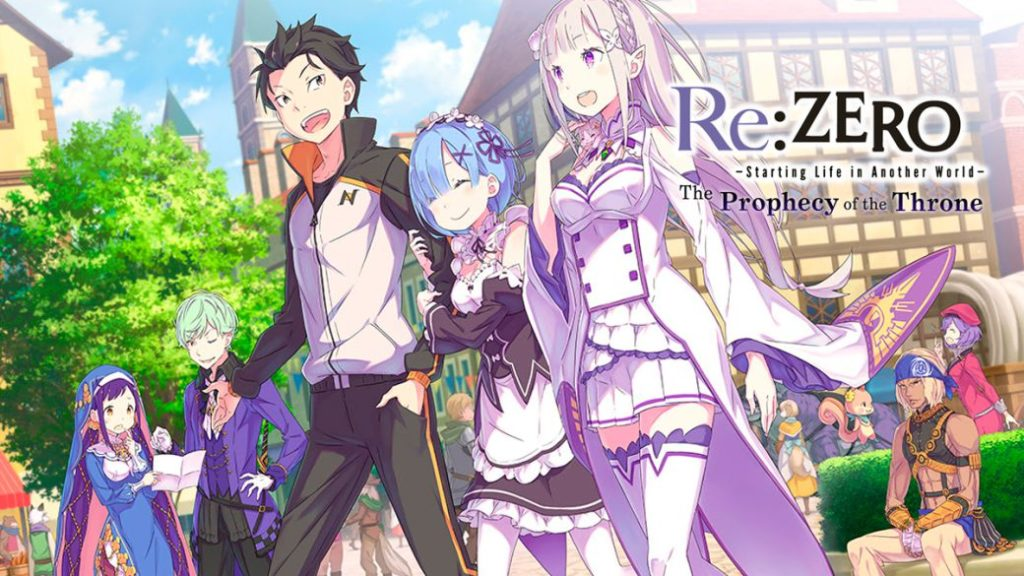 Re: ZERO – Starting Life in Another World – The Prophecy of the Throne, Reviews