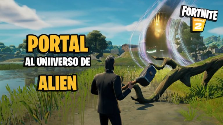Fortnite: where to find the portal to the Alien universe