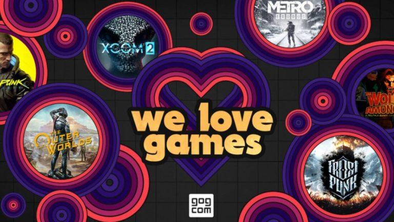 """We Love Games"": Valentine's sales on GOG"