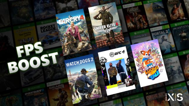 Xbox Series X | S fps boost improves framerate games selection retro