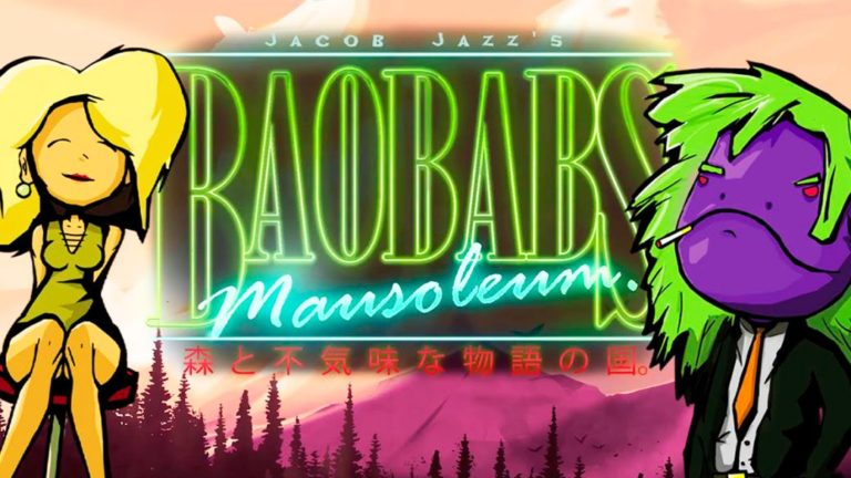 Baobabs Mausoleum: Grindhouse Edition. Stuck in the craziest town you can imagine