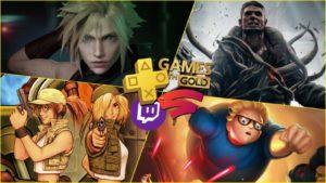 Juegos gratis de marzo en PS Plus, Xbox Gold, Prime Gaming y Stadia Pro