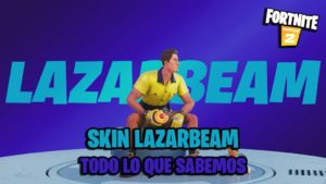 Fortnite: LazarBeam skin announced; first details of the new Icon Series