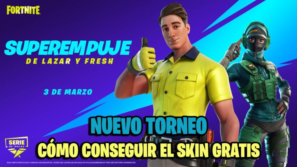 Fortnite: Lazar and Fresh Super Push Tournament Announced; how to get Lazarbeam skin for free
