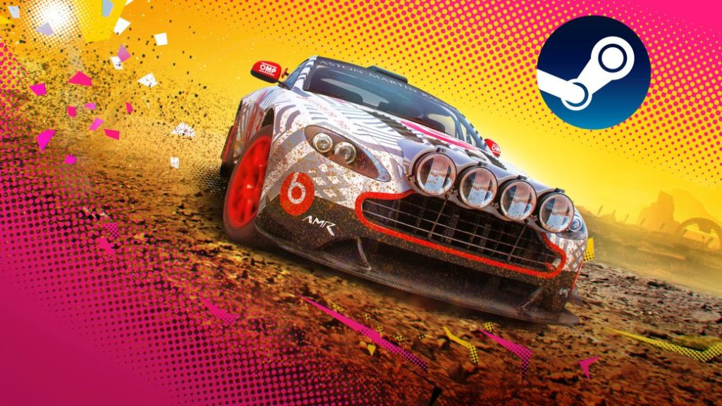 Play DiRT 5 for free on Steam for a limited time; saga on offer up to 75% discount
