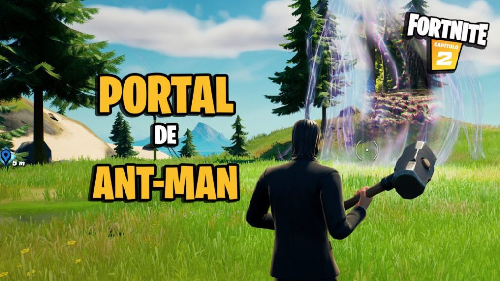 Fortnite: where to find the Ant-Man portal