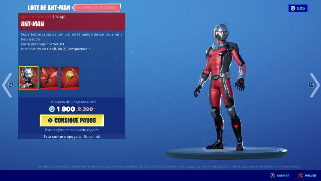 fortnite marvel skin antman how to get it