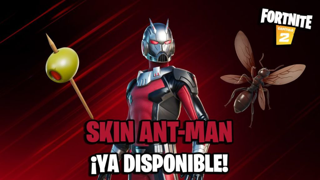 Fortnite: Marvel's Ant-Man Skin Now Available; price and contents